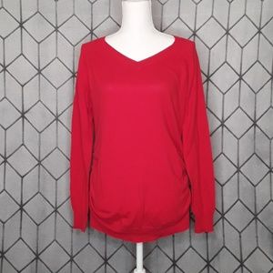 Motherhood Maternity V-Neck Sweater